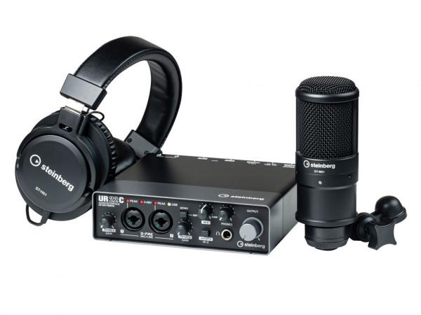 USB 3.0 Audiointerface Steinberg UR22C | Recording-Pack