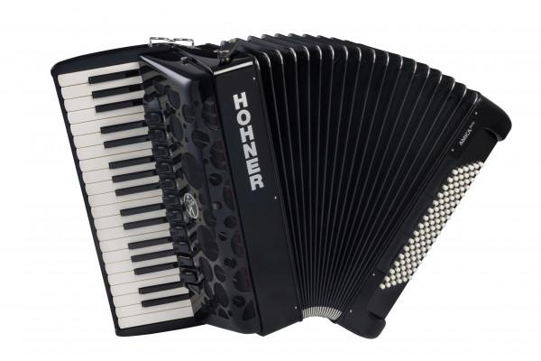 Akkordeon Hohner Amica IV 96 Bass schwarz