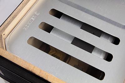 Akkordeon Hohner Amica IV 120 Bass schwarz
