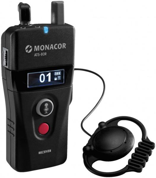 Empfänger ATS-80R mobil digital 42-Kanal-PLL-Sprachübertragungssystem